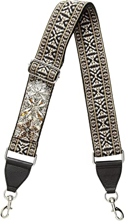 Rebecca Minkoff - Jewel Stud Jacquard Adjustable Guitar Strap