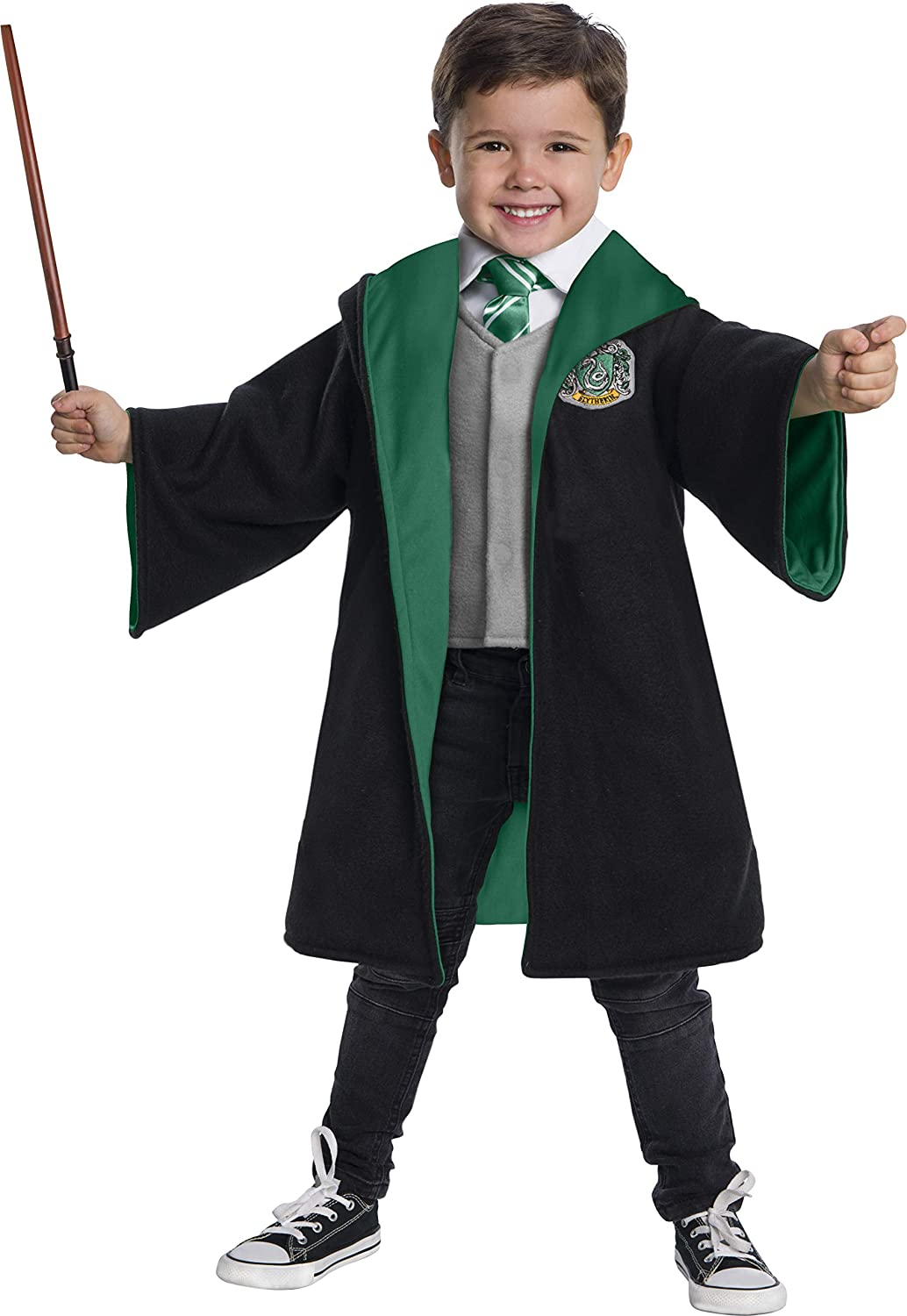 Charades free famous Slytherin Student Costume for Harry Toddlers Potter