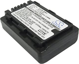 CameronSino Replacement Battery Compatible with Panasonic Camera HDC-HS60K, HDC-SD40, HDC-SD60, HDC-SD60K, HDC-SD60S, HDC-TM55K, HDC-TM60, SDR-H85, SDR-H85A, SDR-H85K, SDR-H85S, SDR-S50, SDR-S50A, SDR