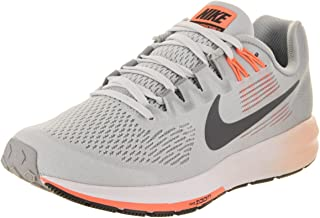 Nike Women's W AIR Zoom Structure 21, Wolf Grey/Dark Grey