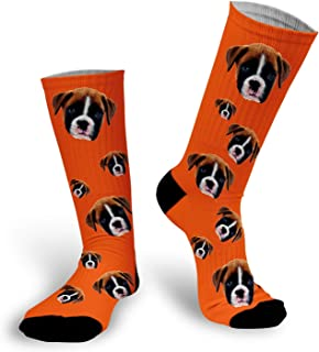 custom pet photo socks