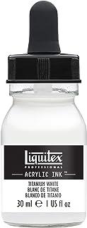 Liquitex 4260432 Professional Acrylic Ink 1-oz jar, Titanium White