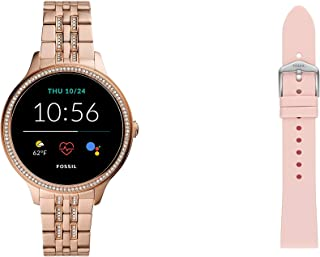 Fossil Smartwatch GEN 5E Connected da Donna con Wear OS by Google, Frequenza Cardiaca, GPS, Notifiche per Smartphone e NFC...