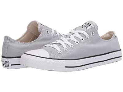 Converse Chuck Taylor All Star Seasonal Ox (Wolf Grey) Athletic Shoes