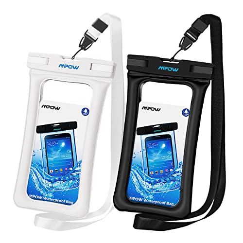ad13f543922 Mpow Floatable Waterproof Case 2 Packs