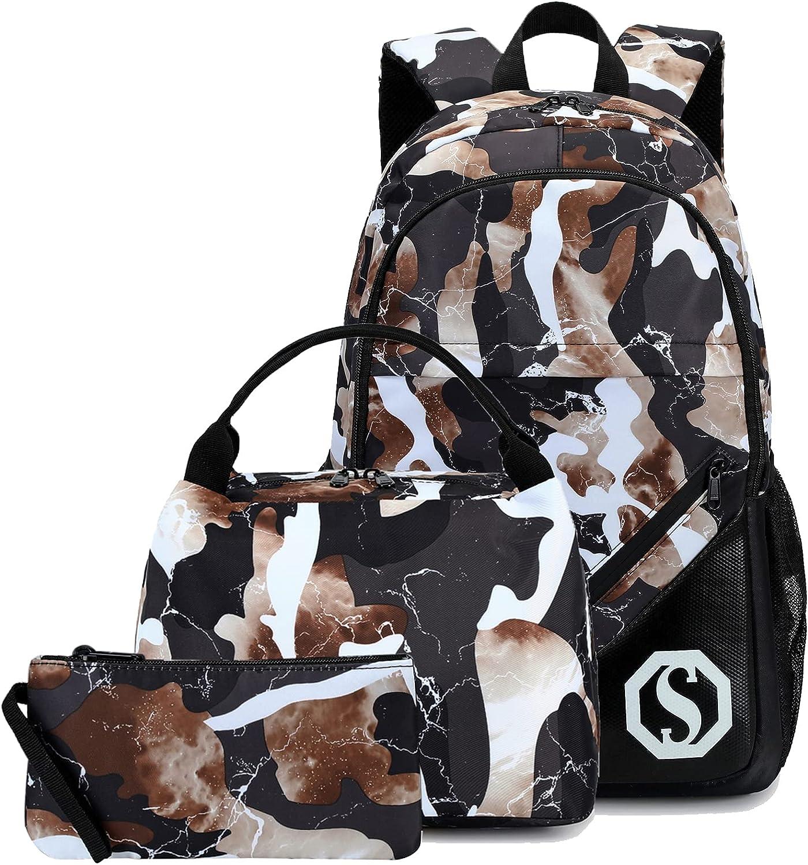 CAMTOP School Backpack Free shipping on posting reviews Boys Girls Kids Bookbag Studen Max 57% OFF Set