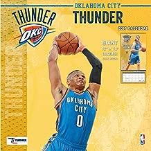 thunder calendar 2017