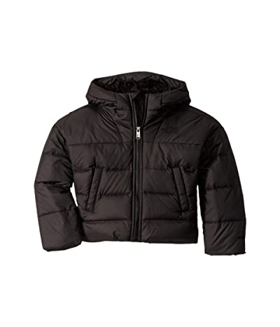 The North Face Kids Moondoggy Down Jacket (Little Kids/Big Kids) (TNF Black) Girl