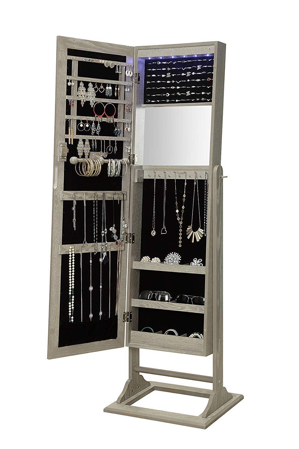 Abington Lane Standing Jewelry Armoire