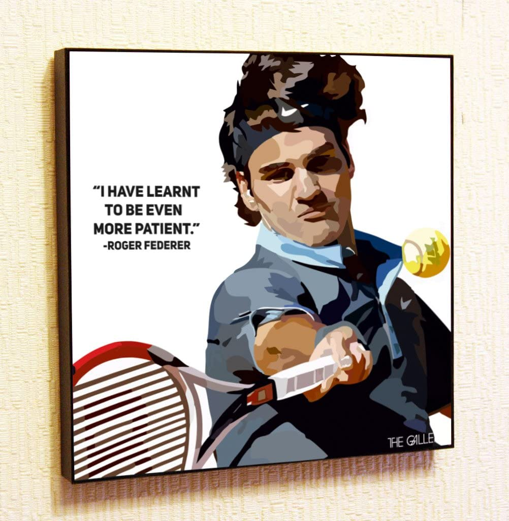 "Top Tennis Player Sports 24/""x14/"" Poster 007 Roger Federer"