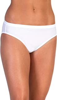 ExOfficio Women's Give-N-Go Bikini Brief, White, Medium