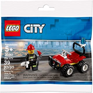 CITY Lego Set 30361 Fire ATV 39 Pieces Polybag