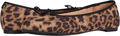 Brown Black Cheetah Print Fabric