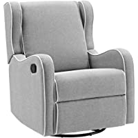 Deals on Angel Line Rebecca Upholstered Swivel Gliding Recliner