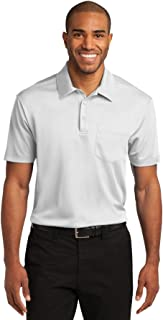 Men's Silk Touch Performance Pocket Polo