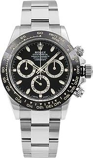 Rolex Cosmograph Daytona Black Dial 40mm Oystersteel Men's Watch 116500LN-0002