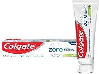 معجون اسنان كولجيت بنكهة النعناع المدبب خالي من الملونات الاصطناعية والمحليات بقوام جل شفاف، 98 مل