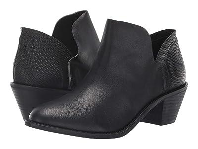 Kelsi Dagger Brooklyn Kenmare Ankle Boot (Black Leather) Women
