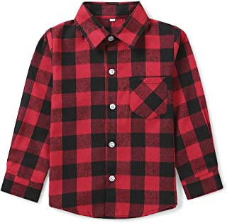Best red and green plaid shirt boys Reviews