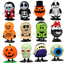 JOYIN 12 Pack Halloween Wind Up Toy Assortments for Halloween Party Favor Goody Bag Filler (12 Pieces Pack)