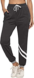 Pantalon de Jogging Femme Pantalon Sport Coton Pan