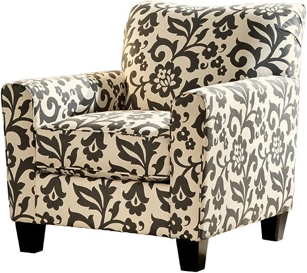Ashley Furniture Signature Design Levon Accent Chair Contemporary Charcoal Gray