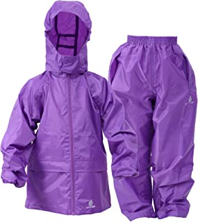 DRY KIDS - Jacket and Trouser Set 13-14 Yrs Purple