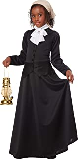 Girl's Harriet Tubman Costume Small
