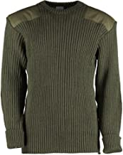 British Commando Sweater Woolly Pully Crew Neck
