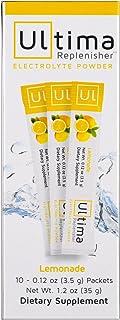 New Ultima Hydrating Electrolyte Powder, Lemonade, 10 Count Stickpacks