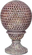 Hashcart Traditional Tea Light Candle Holder/Soapstone Candle Light Holder Set/Designer Votive Candle Holder Stand/Table D...