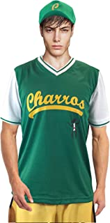 Kenny Powers Baseball Jersey & Cap Charros Full Costume Eastbound and Down