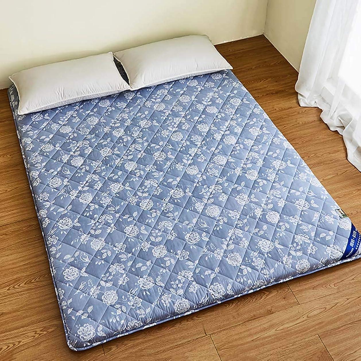 コンバーチブル第二テレビを見るパッド 畳マットレス,折りたたみ 暖かい 竹炭 スリーピングマット 通気性 じゃない-スリップ 布団パッド 伝統的です 日本語 ドミトリーマットレス-a 150x190cm(59x75inch)