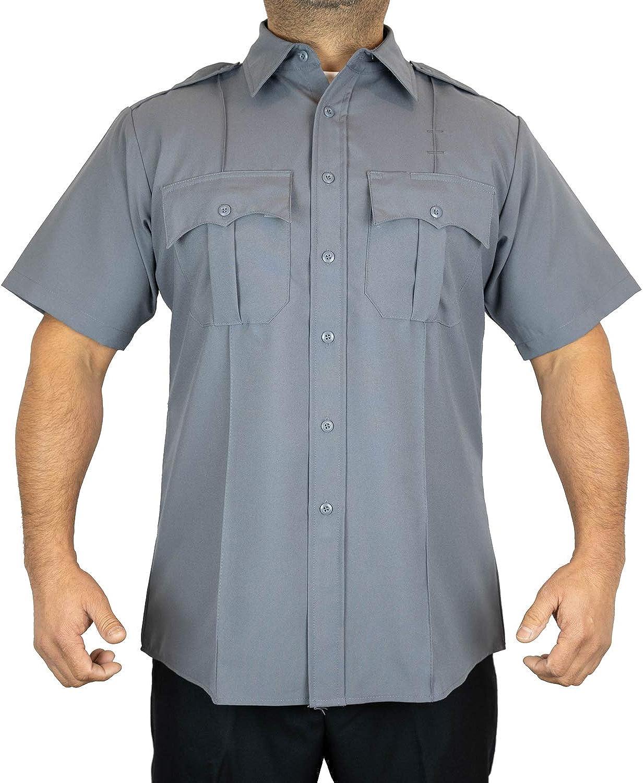 First Class Miami Mall 100% Polyester Short-Sleeve Men's Ligh Shirt Uniform New product