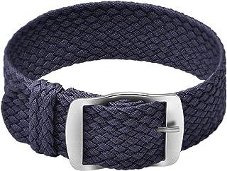 Ullchro Nylon Bracelet Montre Remplacer Haute Qualité Perlon Tissé Bracelet Montre NATO Homme Femme - 14, 16, 18, 20, 22mm...