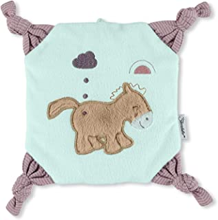 Sterntaler Cojín térmico Pony Pauline, para bebés a Partir de 1 Mes, 22 x 22 x 3 cm, Multicolor