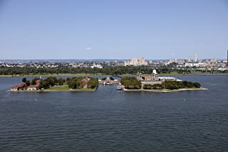 Photograph- Ellis Island, New Jersey, in Upper New York Bay 2 Fine Art Photo Reproduction 66in x 44in