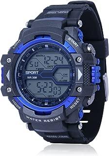 Skylofts Sports Watch Round Dial Style Digital Watch Waterproof Watch for Boys Children & Men