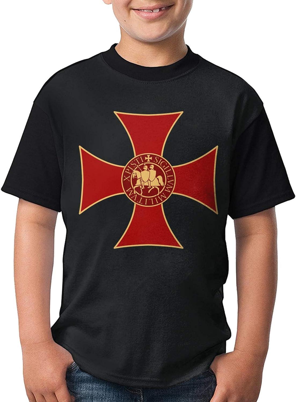 Cross Knights Templar Logo Cute free Shirts 2021 Polo Boy's Fashion Girls'