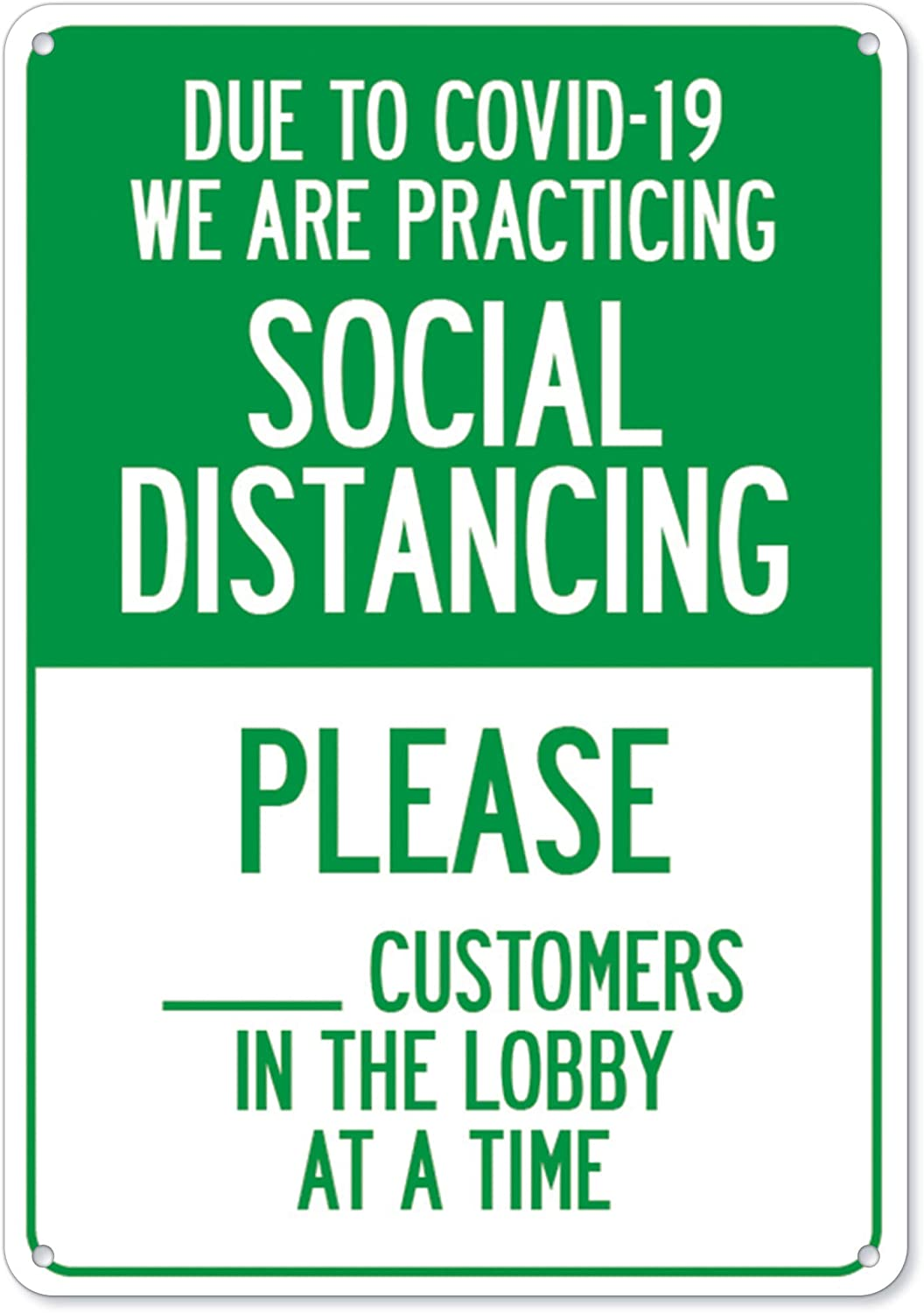 COVID-19 Notice Sign - Due Practicing We to Social are National Gorgeous uniform free shipping