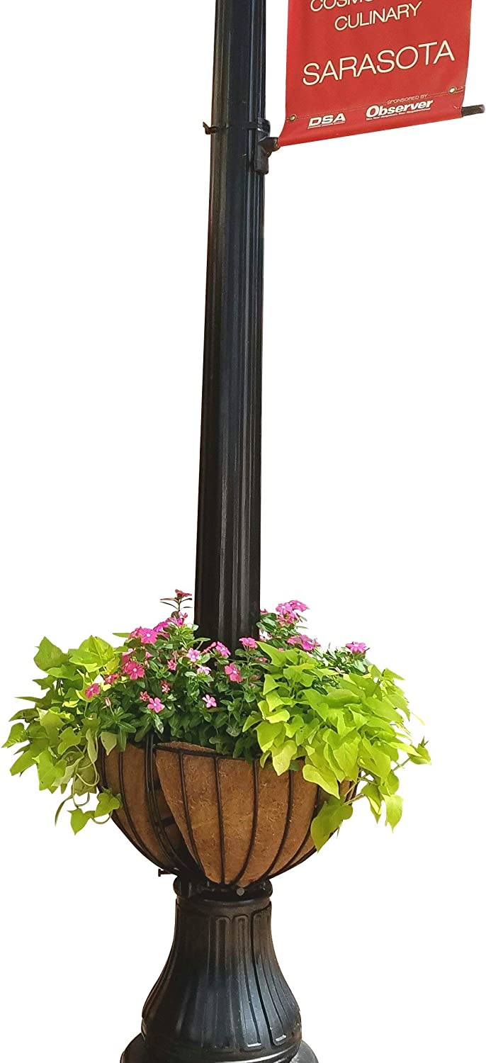 Commercial Hayrack Max 63% OFF Lamppost Euro Classic Miami Mall and Se 25
