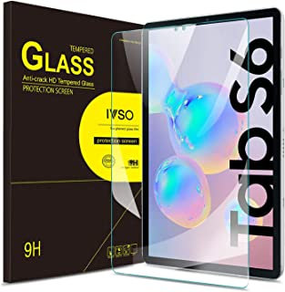IVSO Screen Protector for Samsung Galaxy Tab S6 10.5 2019, Clear Tempered-Glass Flim Screen Protector for Samsung Galaxy T...