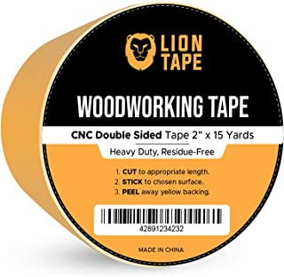 Double Sided Woodworking Tape w/Yellow Backing 2