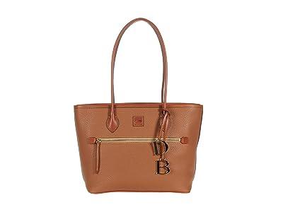 Dooney & Bourke Pebble Tote (Caramel) Handbags