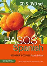 Pasos 1 (Fourth Edition): Spanish Beginner's Course: CD and DVD set