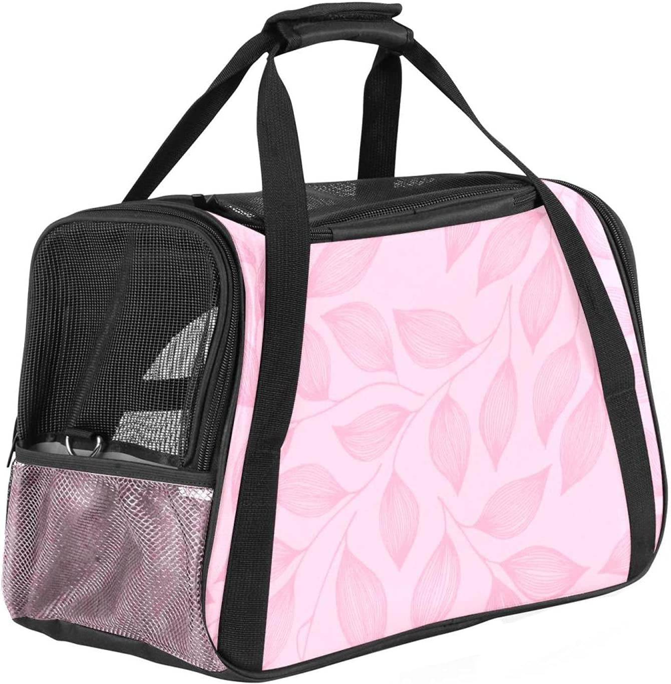 Pet 2021 new Carrier safety for Dog and Tra Airline Soft-Sided Approved Cats