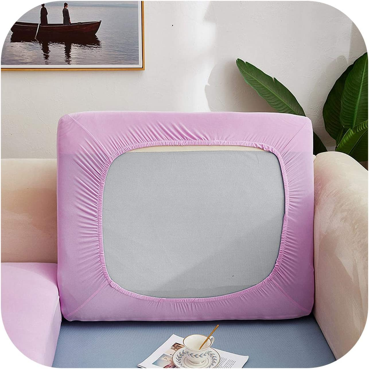 Xllion Sofa Mail order Seat Cushion Cover Washable Surprise price Pe Polyester Chair