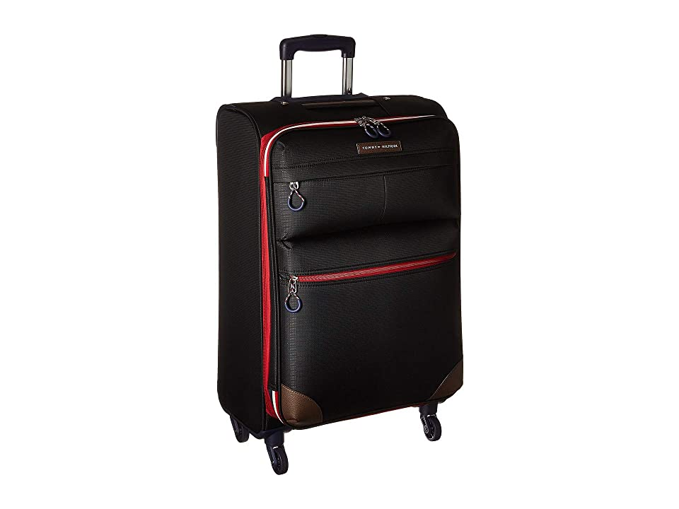 Tommy Hilfiger Glenmore 25 Upright Suitcase (Black) Pullman Luggage