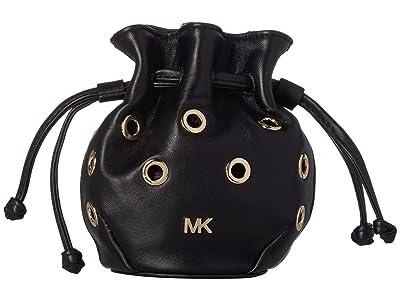 MICHAEL Michael Kors Drawstring Belt Bag (Black) Women