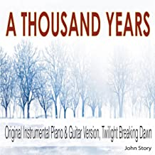Best thousand years piano version Reviews
